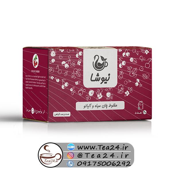 دمنوش چای آلبالو نیوشا
