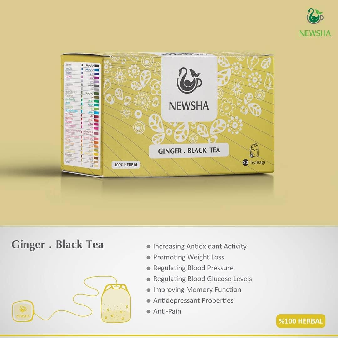 newsha ginger herbaltea 1 - با این 5 نوشیدنی در شب کبد خود را پاکسازی نمایید و برای لاغری اقدام کنید