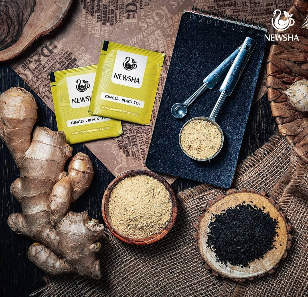 newsha ginger herbaltea 4 - چند جوشانده گیاهی پر خاصیت
