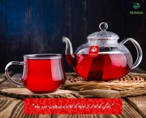 newsha red tea 3 300x243 - چای قرمز در فصل های گرم