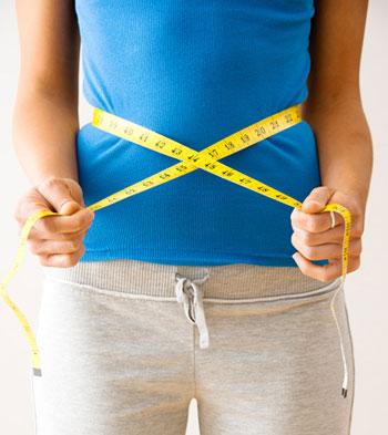 چاقی و فرم بد بدن, کوچک کردن شکم