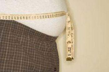 کاهش وزن , چاقی شکمی , رژیم لاغری