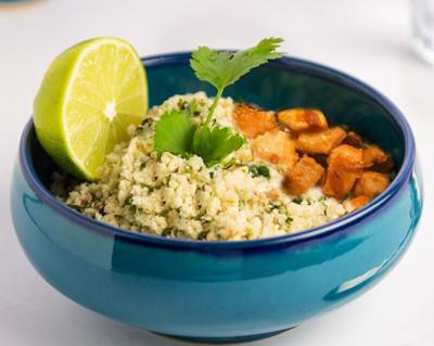 1514398575n94rO447 - طرز تهیه برنج گل کلم، غذایی رژیمی
