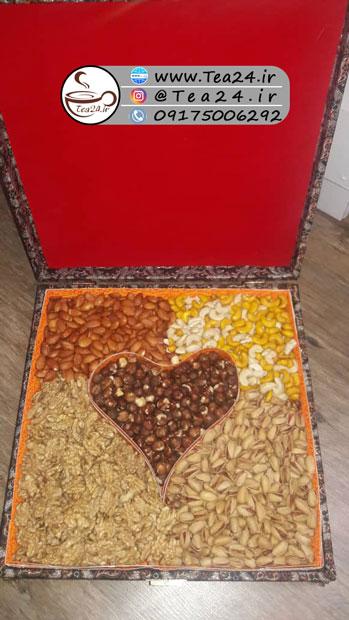 جعبه آجیل چوبی