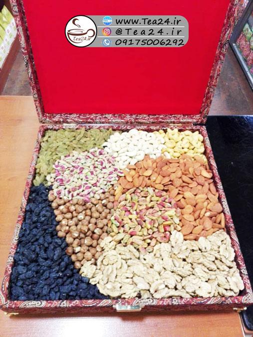 جعبه کادویی آجیل
