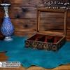 فروش اینترنتی جعبه پذیرایی چوبی چاپی درب شیشه ای 6 قسمتی
