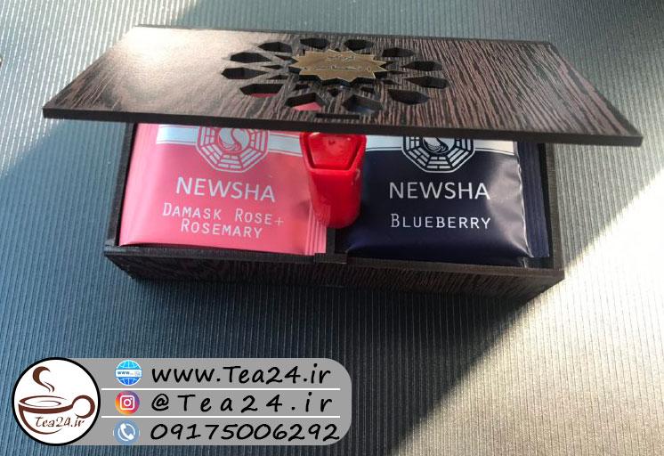 فروش اینترنتی جعبه پذیرایی چوبی لیزری