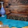 فروش جعبه پذیرایی چوبی چاپی درب شیشه ای 10 قسمتی