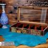 woody printable tea box 10parts 5 100x100 - جعبه پذیرایی چوبی چاپی درب شیشه ای 10 قسمتی