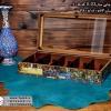 woody printable tea box 10parts 8 100x100 - جعبه پذیرایی چوبی چاپی درب شیشه ای 10 قسمتی