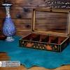 woody printable tea box 8parts 3 100x100 - جعبه پذیرایی چوبی چاپی درب شیشه ای 8 قسمتی