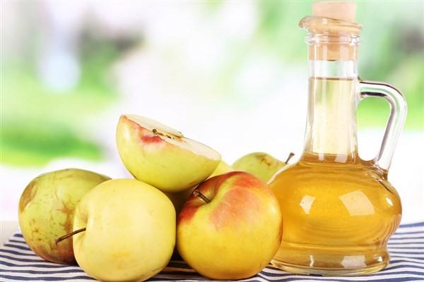 درمان طبیعی کبد چرب با سرکه سیب