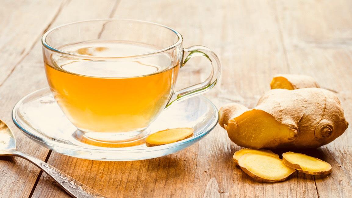 ginger tea 02 - آموزش پاکسازی کبد در منزل با استفاده از گیاهان دارویی