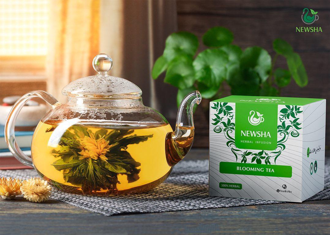 بسته بندی چای بلومینگ نیوشا