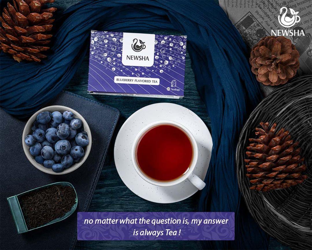 newsha bluberry pics 4 - کسب سلامتی ارزان و طبیعی با استفاده از دمنوشهای گیاهی