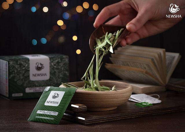 newsha nettle herbal tea 05 - افزایش میل جنسی و درمان سرد مزاجی با گیاهان